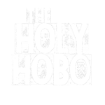holy hobo white stamp